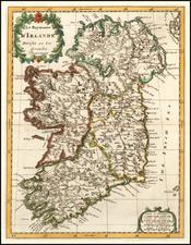 Ireland Map By Sanson fils