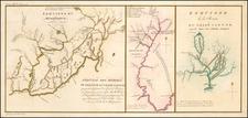 Midwest and Ohio Map By Pierre Antoine Tardieu / Michel Guillaume St. Jean De Crevecoeur