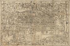 Japan Map By Takehara Kobei