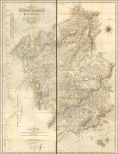 Central America Map By Thos. Harrison Crown