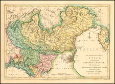Northern Italy Map By Robert Wilkinson