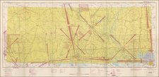 Texas Map By U.S. Coast & Geodetic Survey