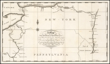 New York State Map By Christian Schultz