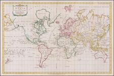 World Map By Thomas Kitchin