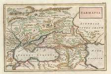 Europe, Russia, Asia, Central Asia & Caucasus and Russia in Asia Map By Christoph Cellarius