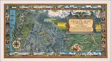 Plains, Missouri, Nebraska, Utah, Rocky Mountains, Utah, Wyoming, Pacific Northwest, Oregon and Washington Map By William Forsyth McIlwraith,
