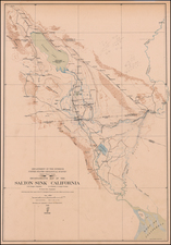 Southwest and California Map By U.S. Geological Survey
