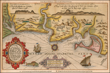 Spain Map By Lucas Janszoon Waghenaer