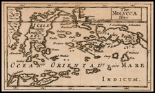 The Molucca Isles By Sir Jonas Moore
