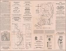 Washington Map By Washington State Bowhunters Association