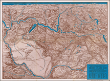 Washington and Pictorial Maps Map By Spokane Chamber of Commerce