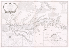 Mid-Atlantic, Maryland, Delaware, Southeast and Virginia Map By George Louis Le Rouge / Anthony Smith