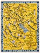 Pictorial Maps and California Map By Lindgren Brothers