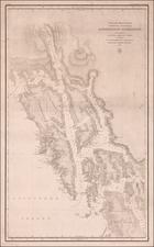 Alaska Map By Russian Hydrographic Depot
