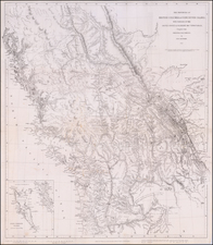 Idaho, Montana, Pacific Northwest, Oregon, Washington and Canada Map By John Arrowsmith