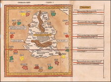 India and Sri Lanka Map By Claudius Ptolemy / Johann Reger