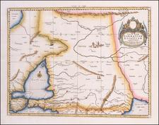Russia, Ukraine, Central Asia & Caucasus and Turkey & Asia Minor Map By  Gerard Mercator