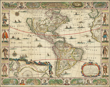 America Map By John Overton