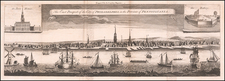 Mid-Atlantic, Pennsylvania and Philadelphia Map By London Magazine