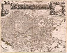 Hungary, Romania, Balkans, Croatia & Slovenia, Bosnia & Herzegovina, Serbia and Turkey Map By Peter Schenk
