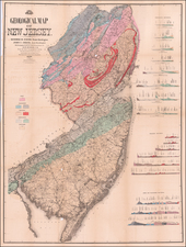New Jersey Map By James Cook