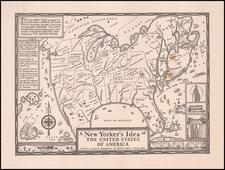 United States Map By Daniel K. Wallingford