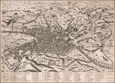 Rome Map By Claudio Duchetti / Ambrosio Brambilla