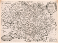 Switzerland Map By Melchior Tavernier