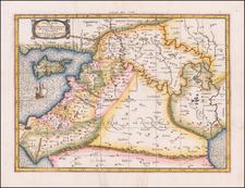 Tab. IV. Asiae in qua Mesopotamia, Syria, Arabia Petrea ac Deserta . . . [Shows Cyprus] By Gerhard Mercator