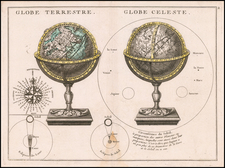 World and Celestial Maps Map By George Louis Le Rouge