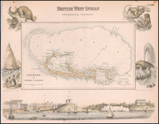 Bermuda Map By Archibald Fullarton
