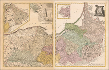 Poland and Baltic Countries Map By Franz Ludwig Gussefeld