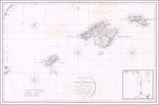 Balearic Islands Map By Jose de Espinosa y  Tello