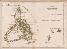 Philippines Map By Georges Louis Le Rouge