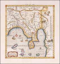India Map By  Gerard Mercator