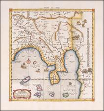 India Map By  Gerard Mercator