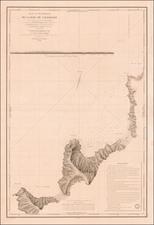 Chile Map By Abel Aubert   Du Petit-Thouars