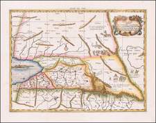 Central Asia & Caucasus and Persia Map By  Gerard Mercator