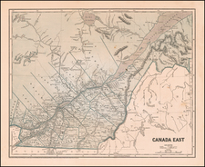 Canada Map By Sidney Morse  &  Samuel Breese