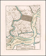 Pennsylvania Map By Jacques Nicolas Bellin