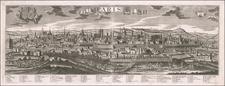 Paris Map By Georg Balthasar Probst