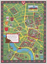 Massachusetts Map By Alva Scott Garfield