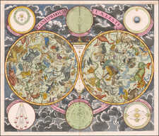 Celestial Maps Map By Georg Christoph Eimmart