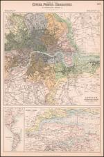 London Map By Archibald Fullarton & Co.