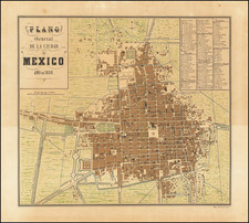 Mexico Map By Decaen