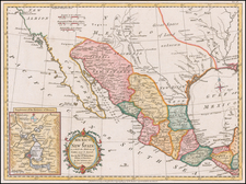 Texas, Southwest and Mexico Map By Strahan  &  Cadell