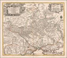 Ukraine Map By Matthaus Seutter