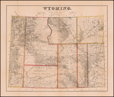 Wyoming Map By G.L. Holt