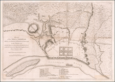 Southeast and Georgia Map By Charles Stedman / William Faden