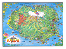 Hawaii and Hawaii Map By James Olson
